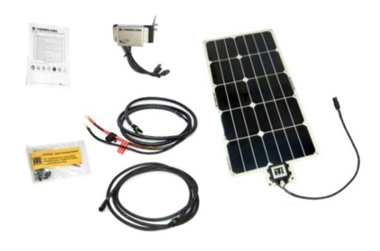 solpanel kit transportkyla